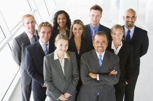 bigstock-Group-Of-Co-Workers-Standing-I-2869622